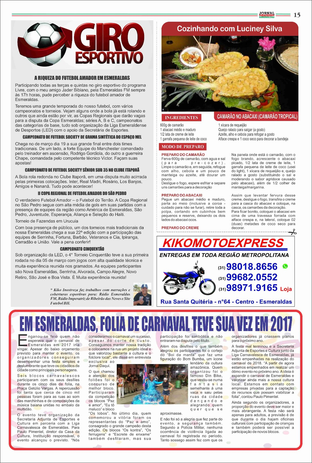 C.R. Direto do ZAPZAP  G.E. de Esmeraldas d901d8e13a01a