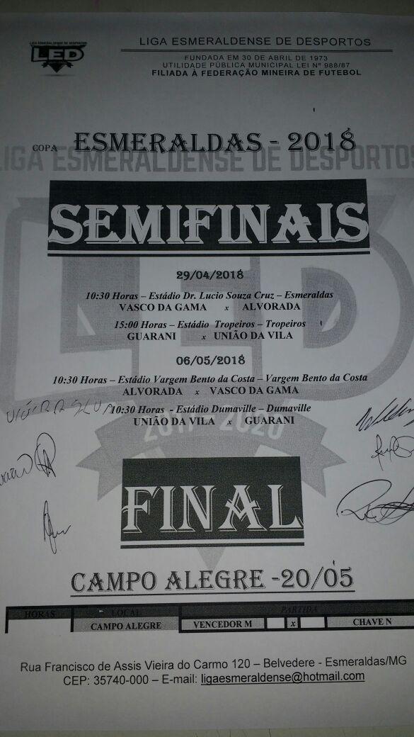 PUBLICADO em 22 04 – Definidos os semifinalistas… 102f070bb2449