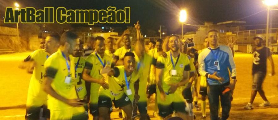 a4c3f52538 1º Torneio de Futebol ELITE do Amador (2017) - ArtBall Campeão!